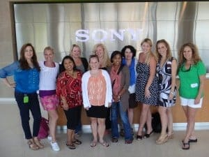 Sony Mom Bloggers