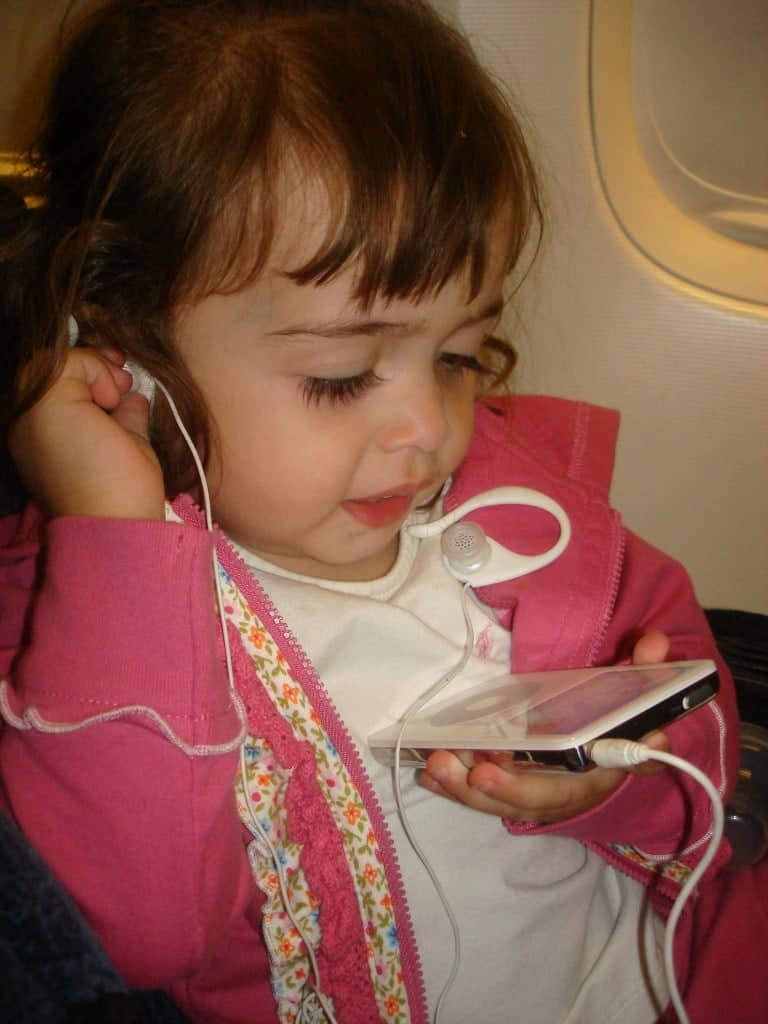 Tips when traveling with young children