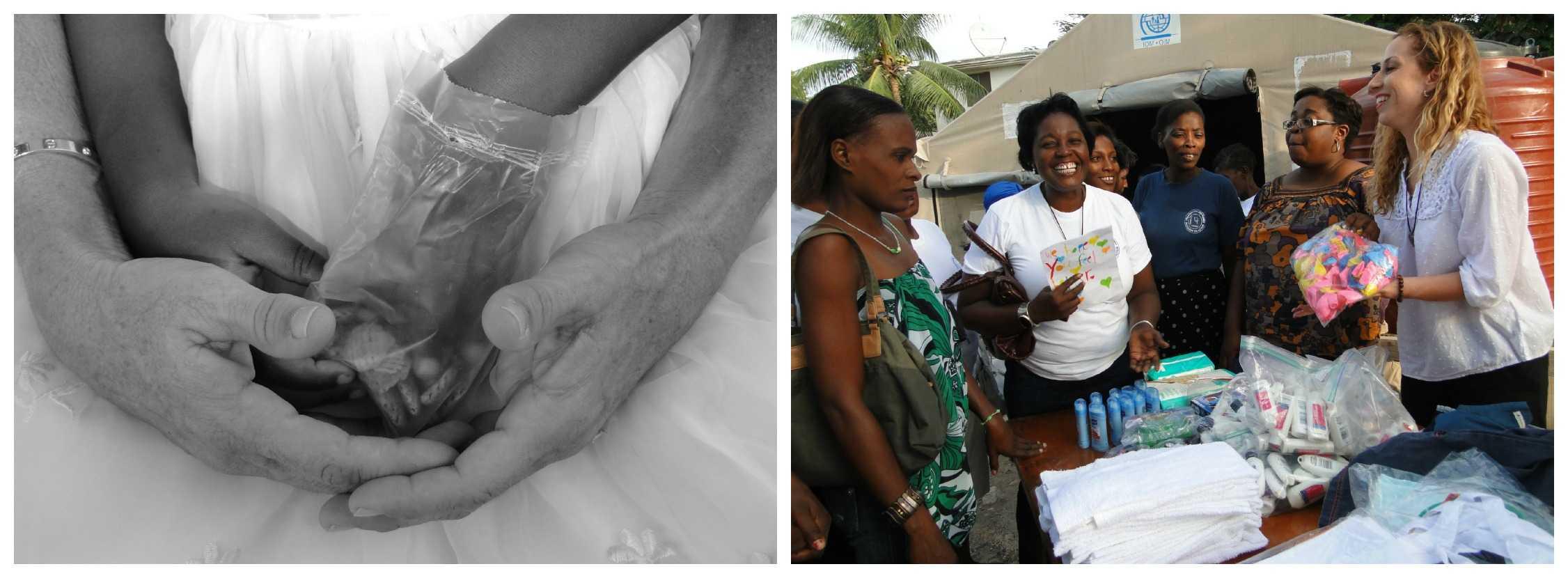 Helping women in Haiti
