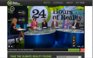 24 Hours of Reality panel with Maggie Fox and Jeannette Kaplun