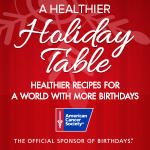 Healthier Holiday Table with American Cancer Society