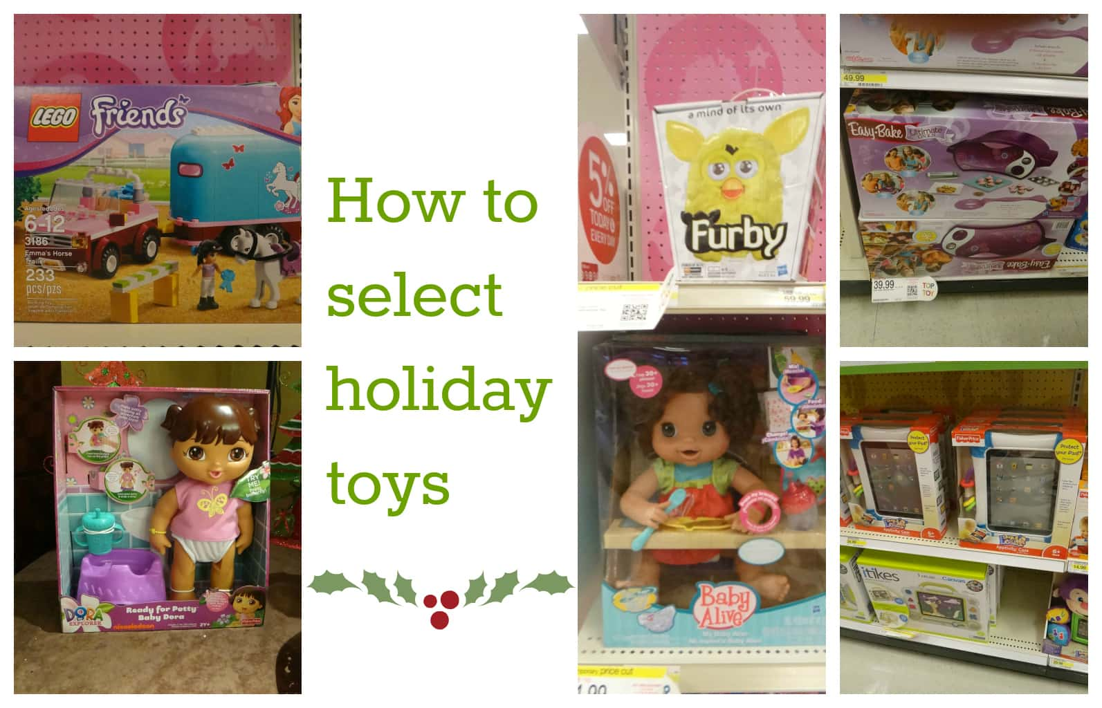Tips for parents to choose holiday toys