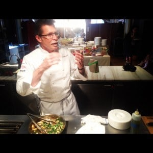 Rick Bayless teaches how to make Swiss chard tacos