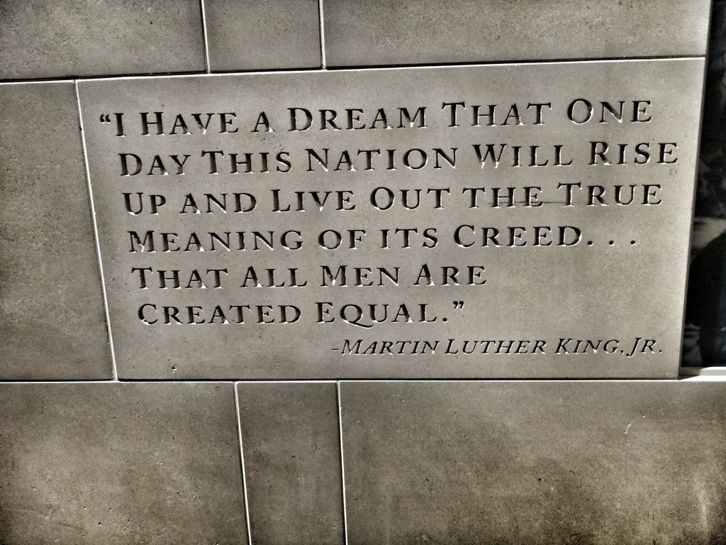 Henry Ford museum Martin Luther King Jr. Quote