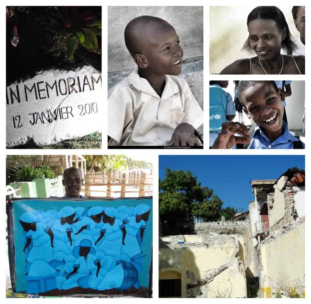 Haiti collage by Jeannette Kaplun