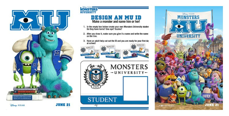How to make your Monsters University student ID