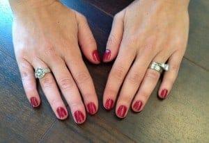 Sally Hansen Gel manicure at home