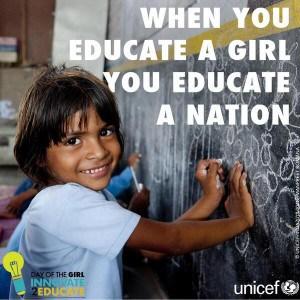 Girls need education #dayofthegirl