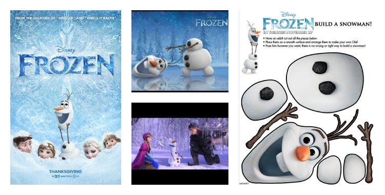Disney's Frozen printable activities