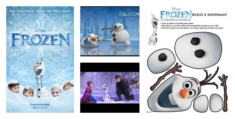 Disney's Frozen printable activities