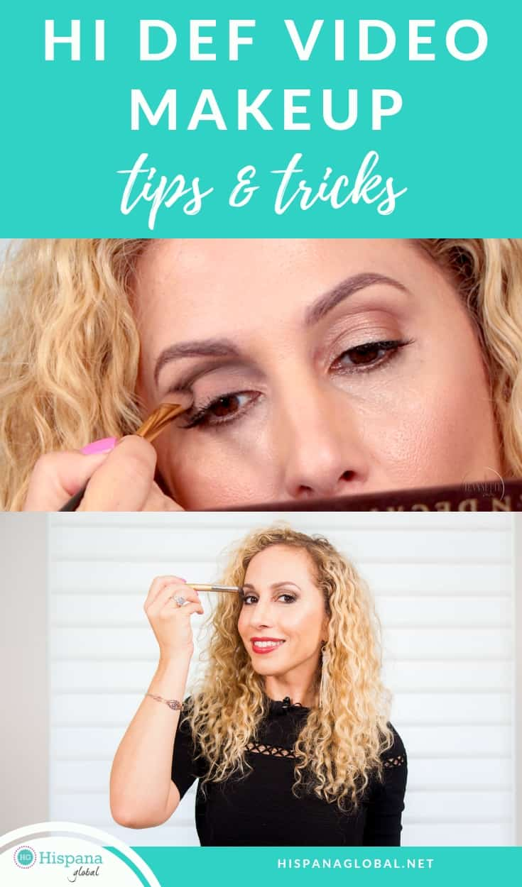 Easy makeup tips and tricks for HD Tv and video