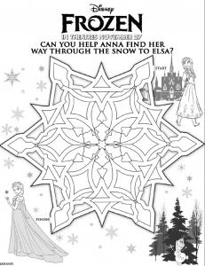 frozen maze anna find elsa