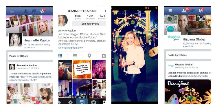 Instagram and social media show a part of my life