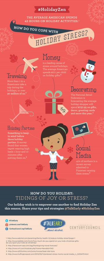 Avoid stress during the holidays
