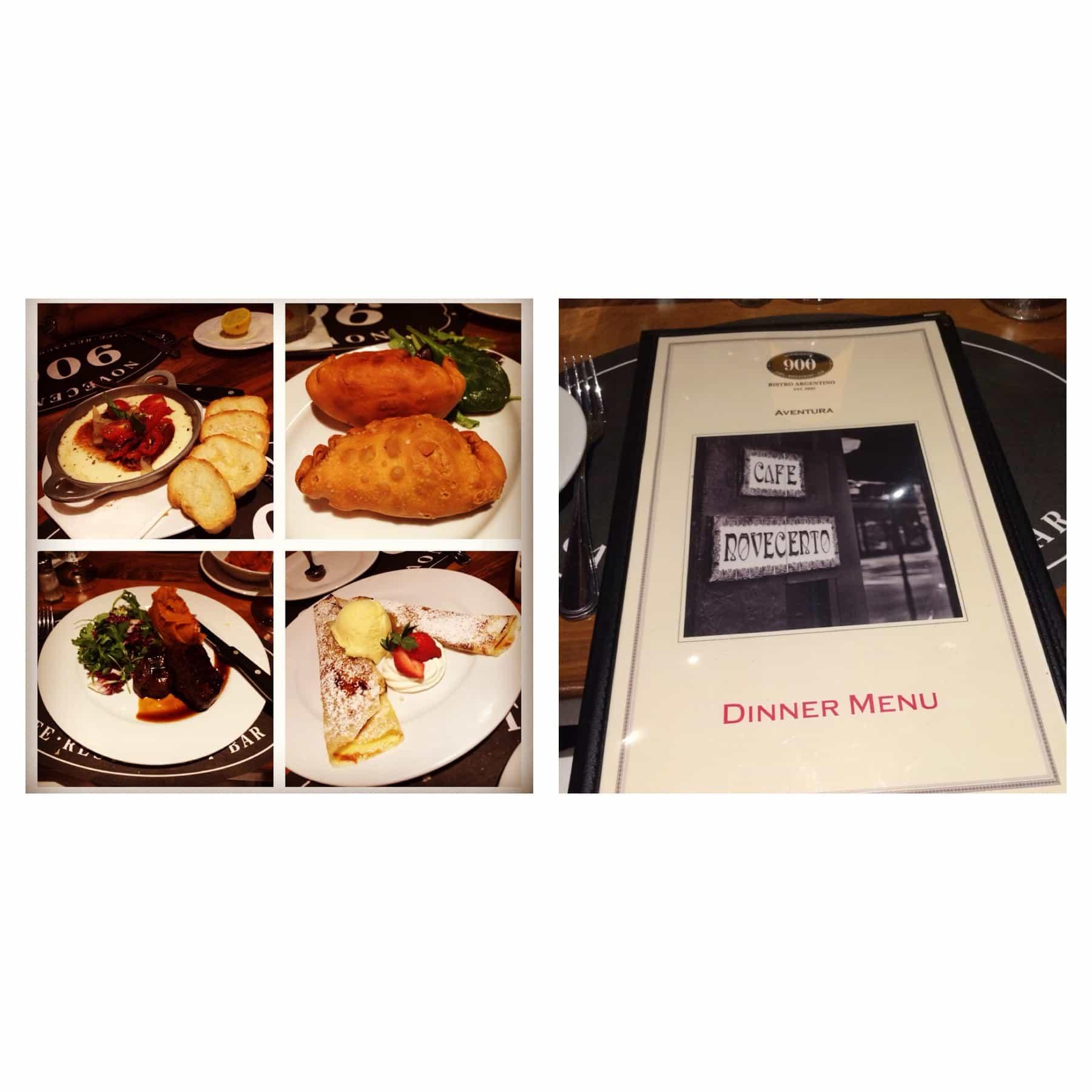 Novecento Restaurant in Aventura