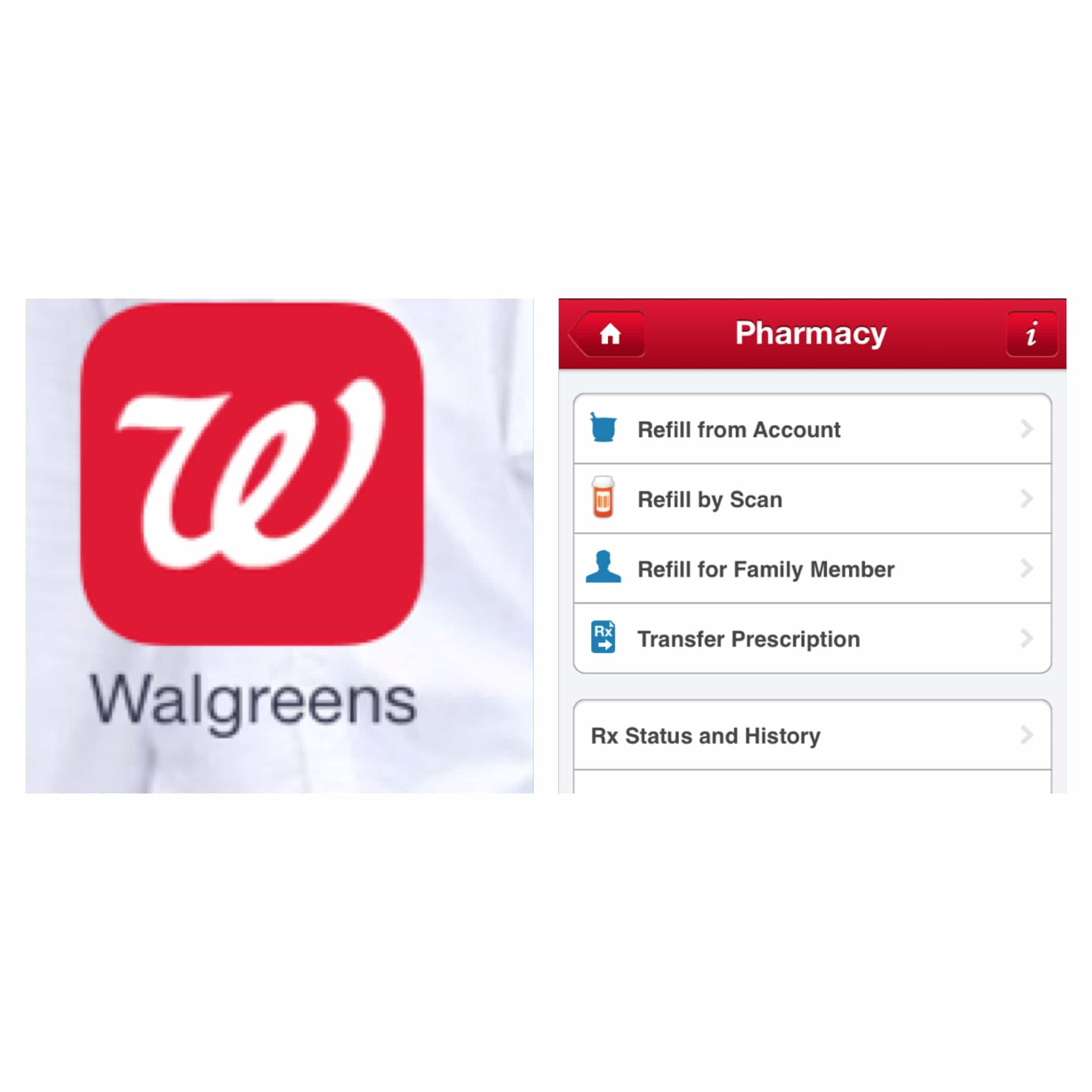 Walgreens free app helps manage your family's health #shop