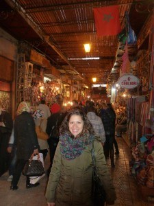 Souk in Morocco, photo by Diana Limongi