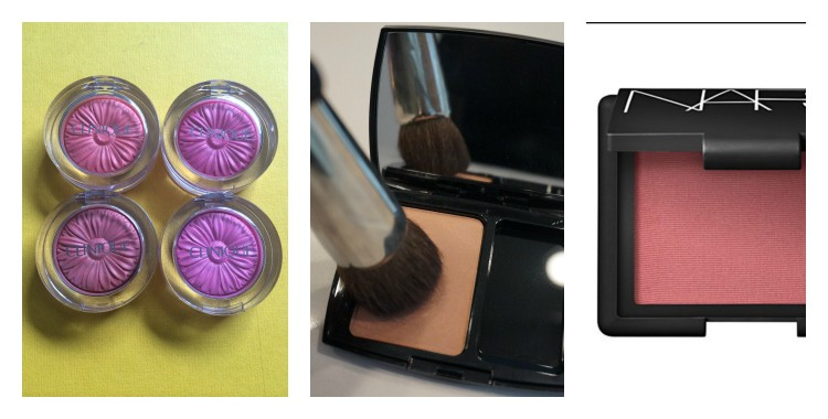 Makeup trend: pretty blushes inspired by Spring flowers