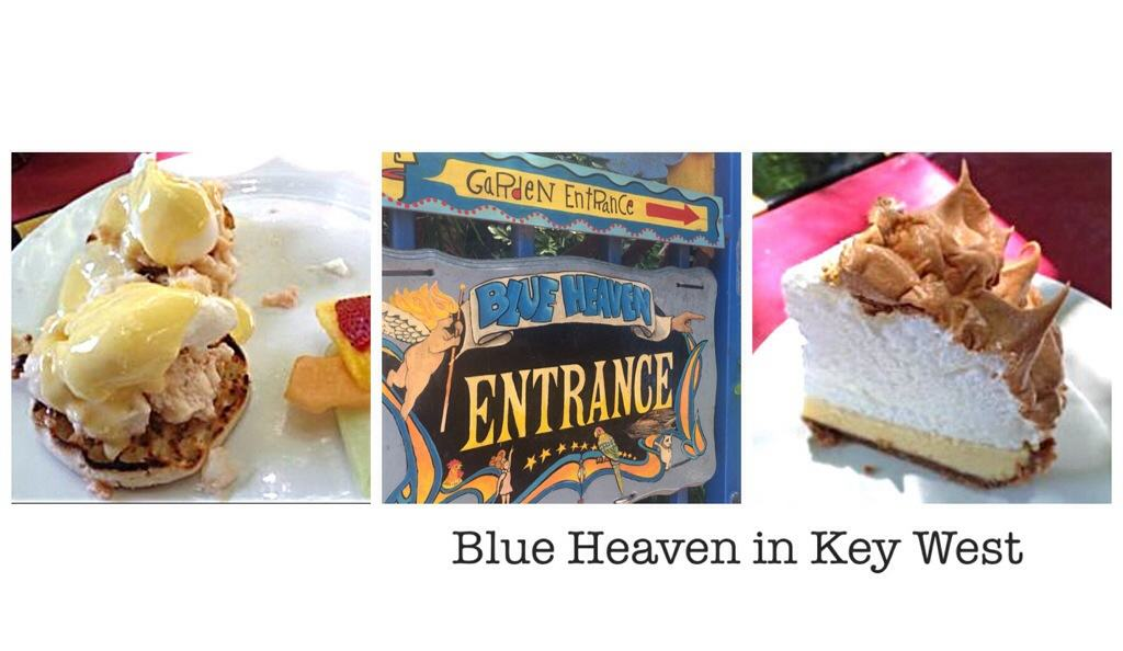 Blue Heaven in Key West has the best lobster eggs benedict I have ever tried.