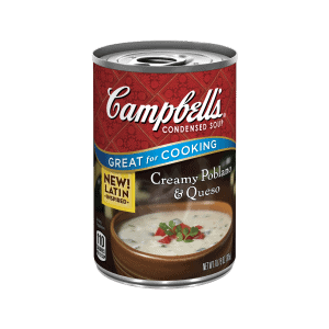 New creamy poblano soup