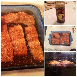 Deliciosa receta de salmón con salsa teriyaki