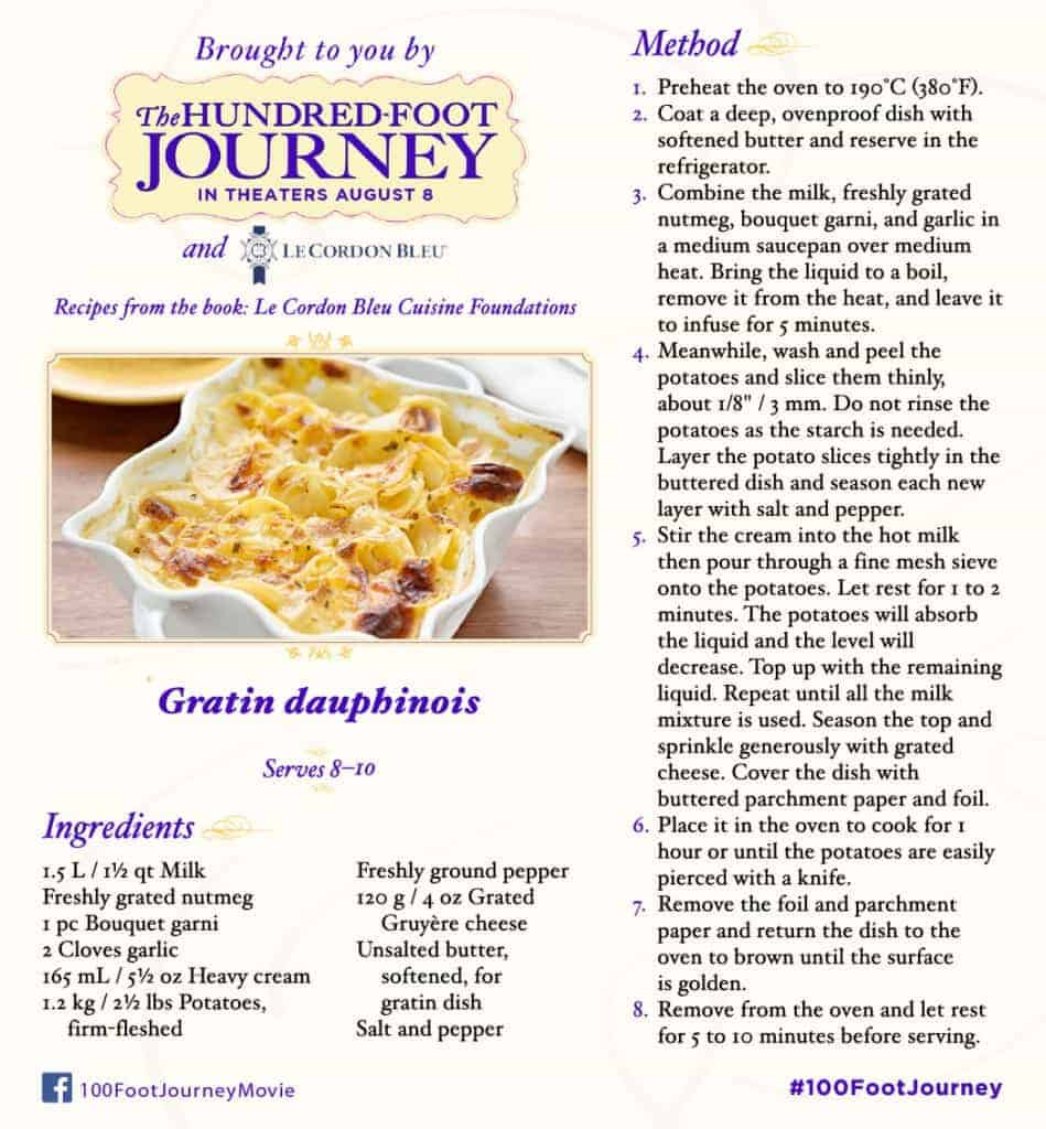 100FootJourney Potato Gratin
