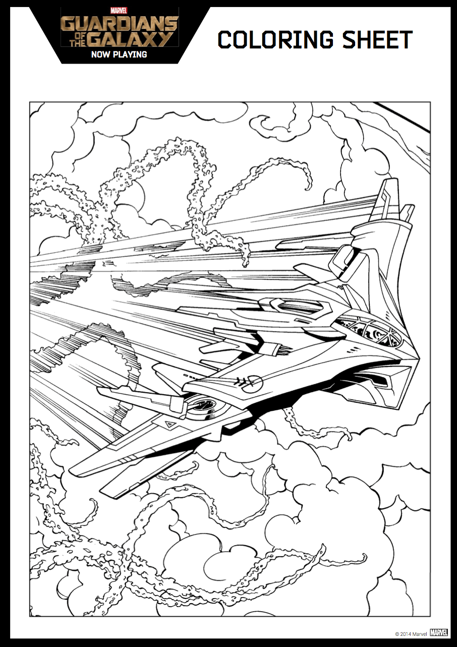 guardians of the galaxy 2 coloring pages - guardians of the galaxy coloring sheet 5 hispana global