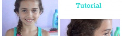 Side French Braid tutorial with video