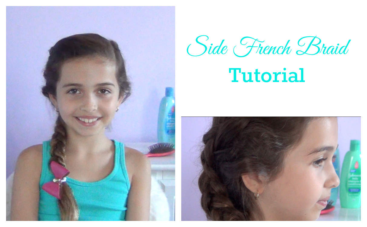 Side French Braid tutorial with video - Hispana Global
