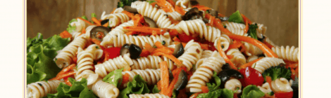 Meatless Monday: Pasta Salad With Chickpeas Recipe