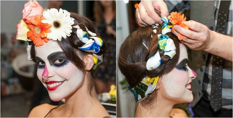 Stunning and Easy Hair and Makeup Tutorial for Day of the Dead