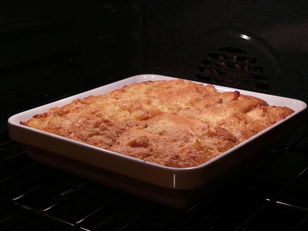 dulce de leche cornbread bread pudding