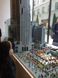 new york lego display
