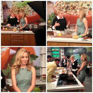 What I wore on The Chew
