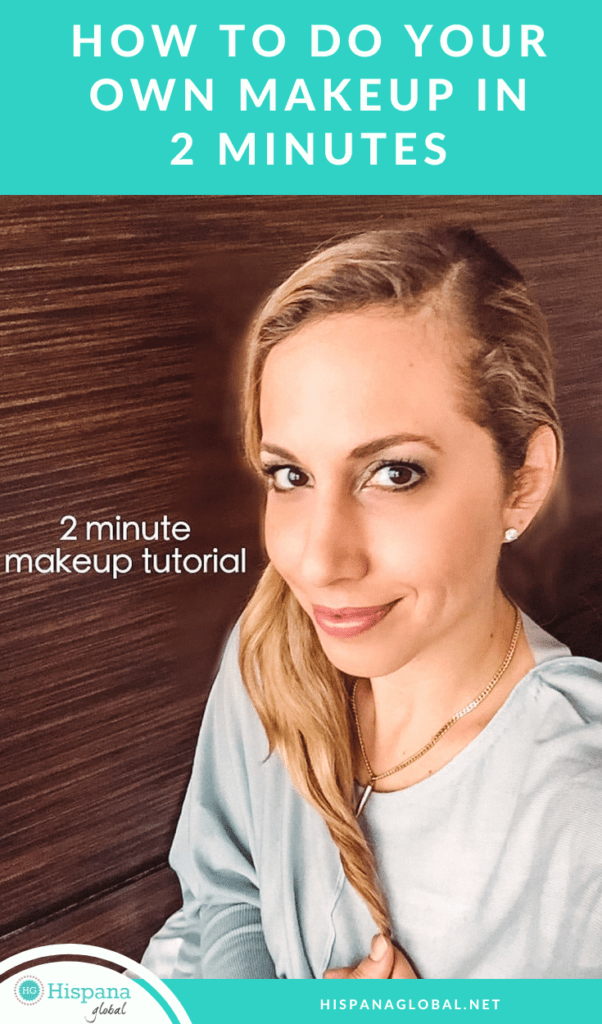 Easy two minute makeup tutorial