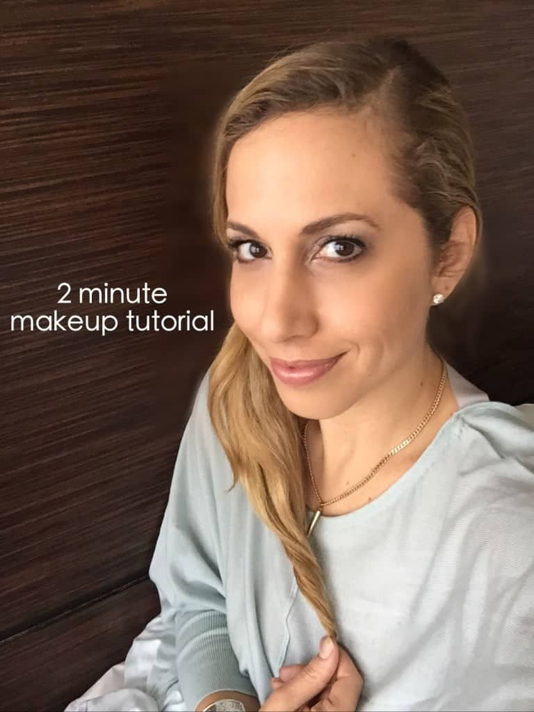 How to do your own makeup in two minutes