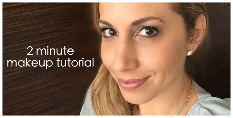 How to do your own makeup in 2 minutes - Hispana Global