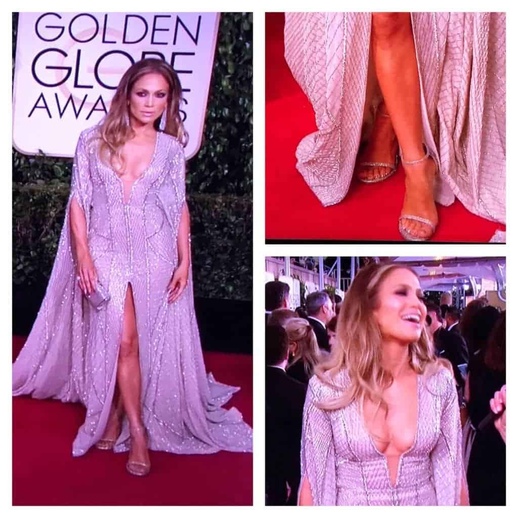 Jennifer Lopez 2015 Golden Globes