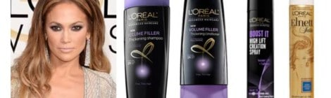 How to get Jennifer Lopez's hair from the Golden Globes