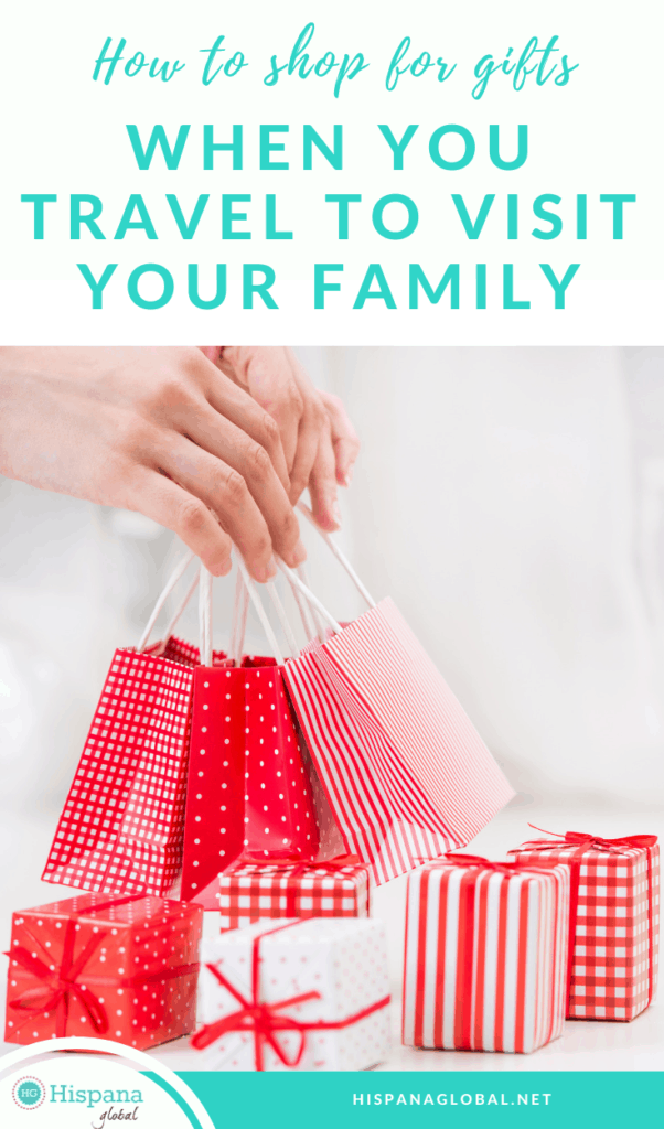 If you need to take gifts for your family when you travel, you'll love these smart holiday shopping tips to save you money.