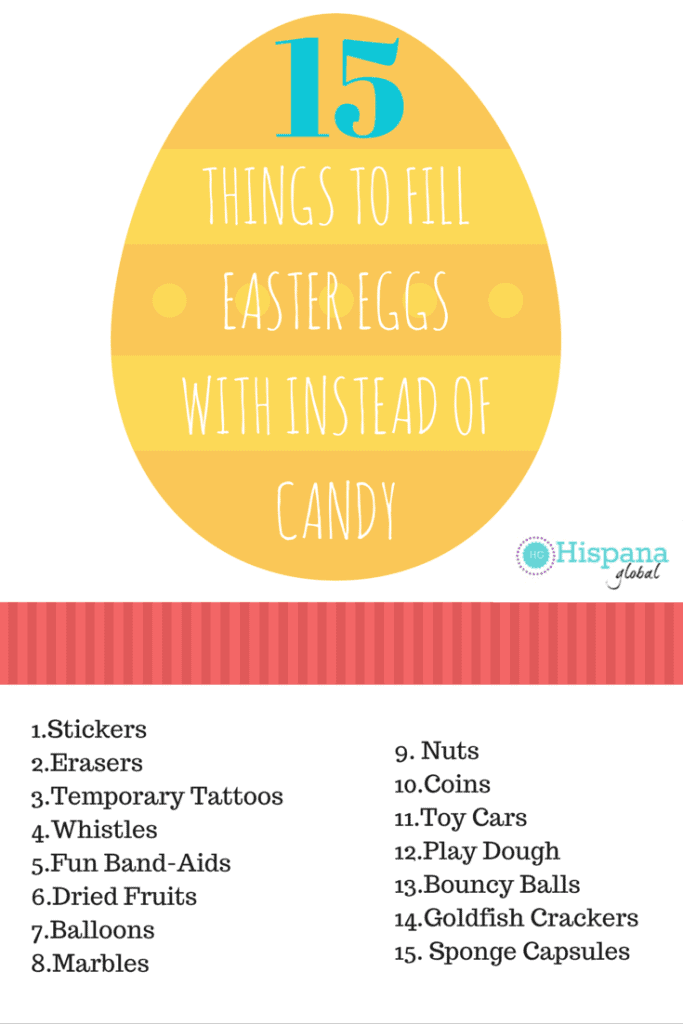 15 ideas for Easter eggs that aren't candy