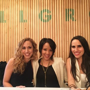 #WeAllGrow summit panel  Jeannette Kaplun, Bren Herrera y Mercedes Sanchez