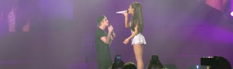 Great photos and video from Ariana Grande's Miami concert with Justin Bieber