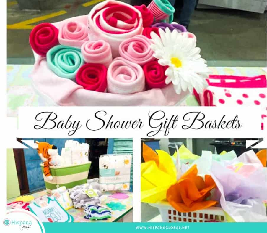 Baby shower gift basket ideas DIY