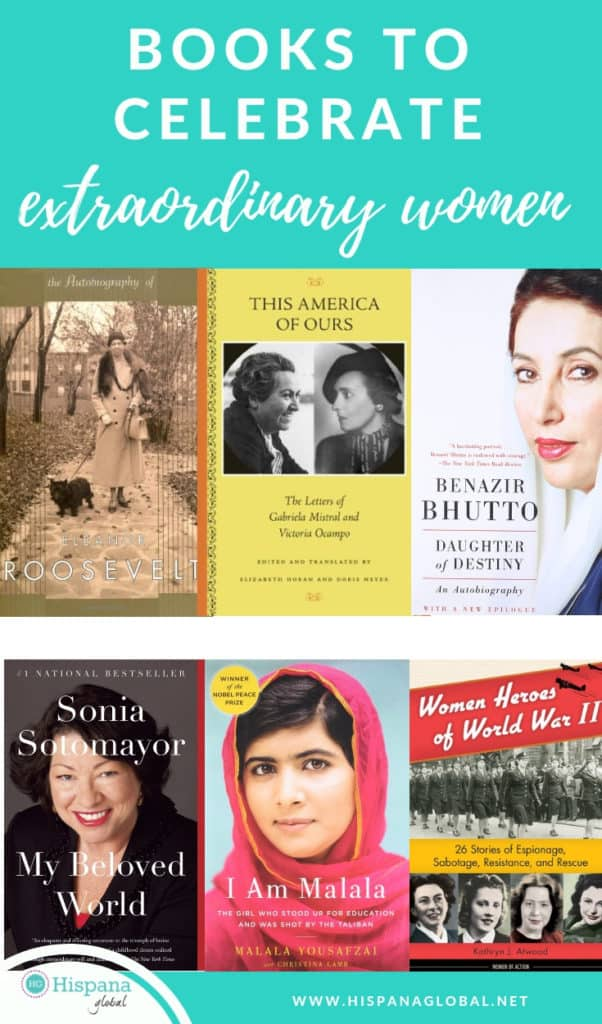 Books that celebrate extraordinary women especially for International Women's Day