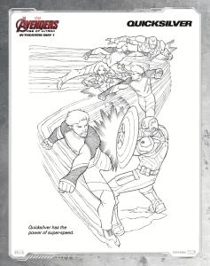 free printable avengers age of ultron coloring sheets  hispana global