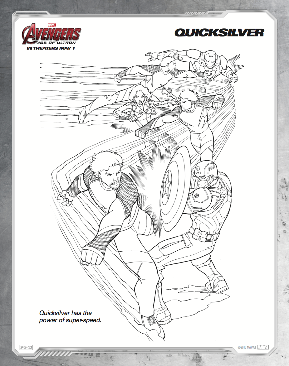 Free coloring pages for avengers - Free Printable Avengers Age Of Ultron Coloring Sheets Hispana Global
