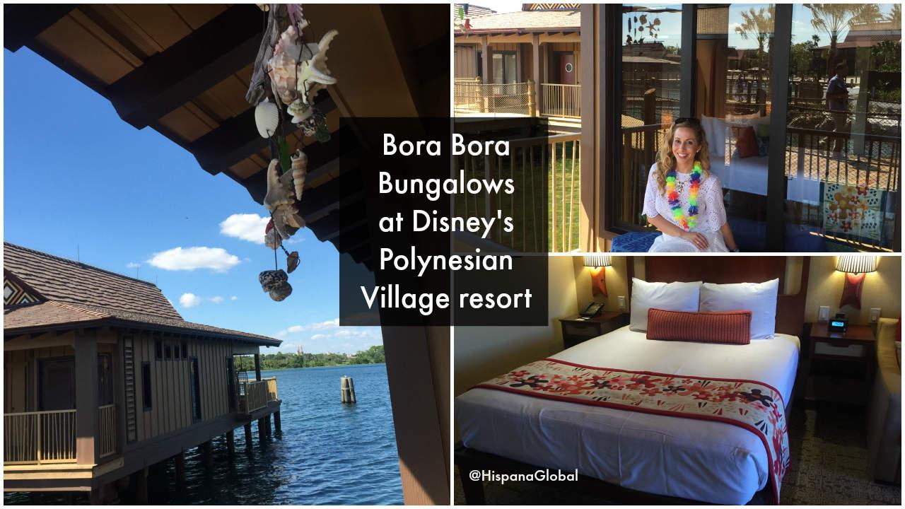 Bora Bora Bungalows Polynesian Village WDW