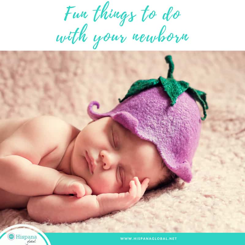 Fun things to do with your newborn in the summer