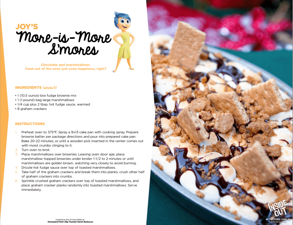 Smores Recipe Inside Out